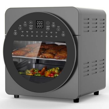 DNA AIrfryer Oven making Food