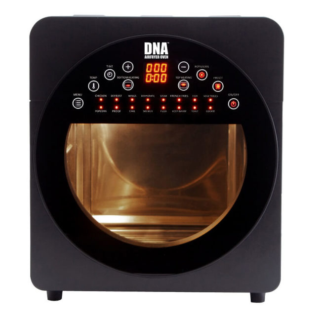 DNA Airfryer Oven - Digital Control Panel